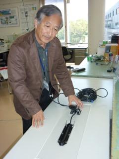 太田先生はソナーの専門家
