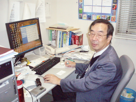 応用化学科 藤永 薫 教授