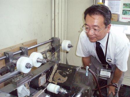 機械工学科 諏訪部教授