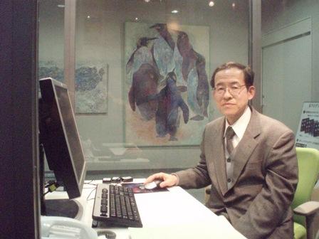 メディア情報学科 永瀬 宏 教授