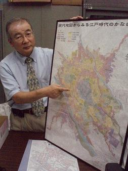 都市・金澤の魅力を語る増田教授