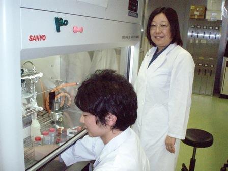 応用バイオ学科 小木 美恵子 教授