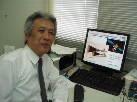 電子情報通信工学科 牧野 滋 教授