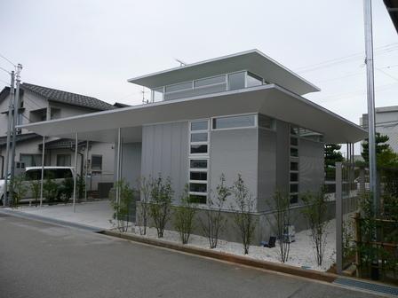 自宅でもあり実験住宅でもあるアルミハウス