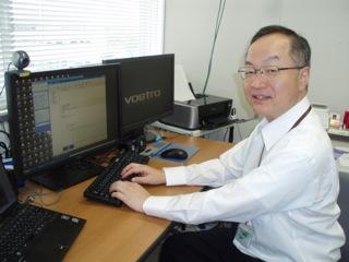 「人の役にたつものを作りたい」と話す鎌田先生