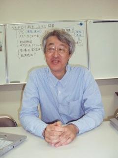 電子情報通信工学科 青木 茂明 教授