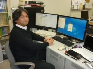 相良先生は早くからパソコンに親しんでいたという