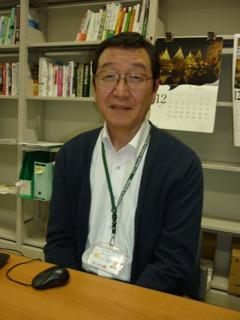 メディア情報学科 中沢 憲二 教授